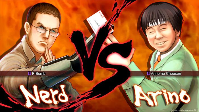 Nerd vs. Arino