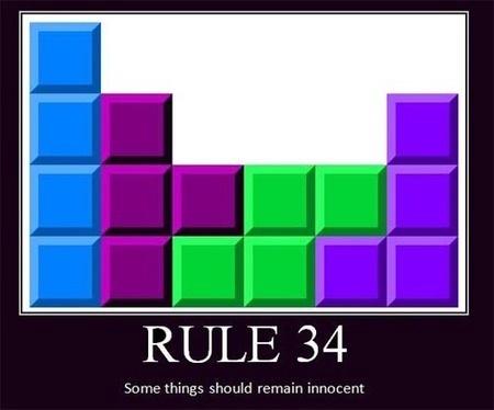 Rule 34...Tetris