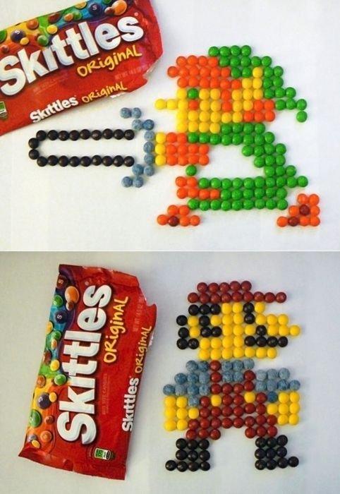 Skittles Gaming Art