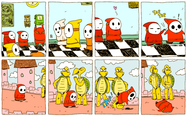 Day in the Life of a Shy Guy