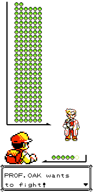Professor Oak wants to fight!