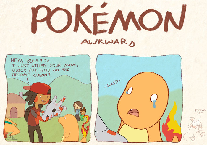 Pokémon Awkward
