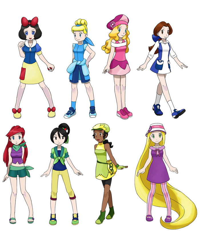 Disney's Pokémon Princesses