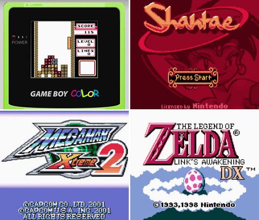 Online GameBoy Color Emulator