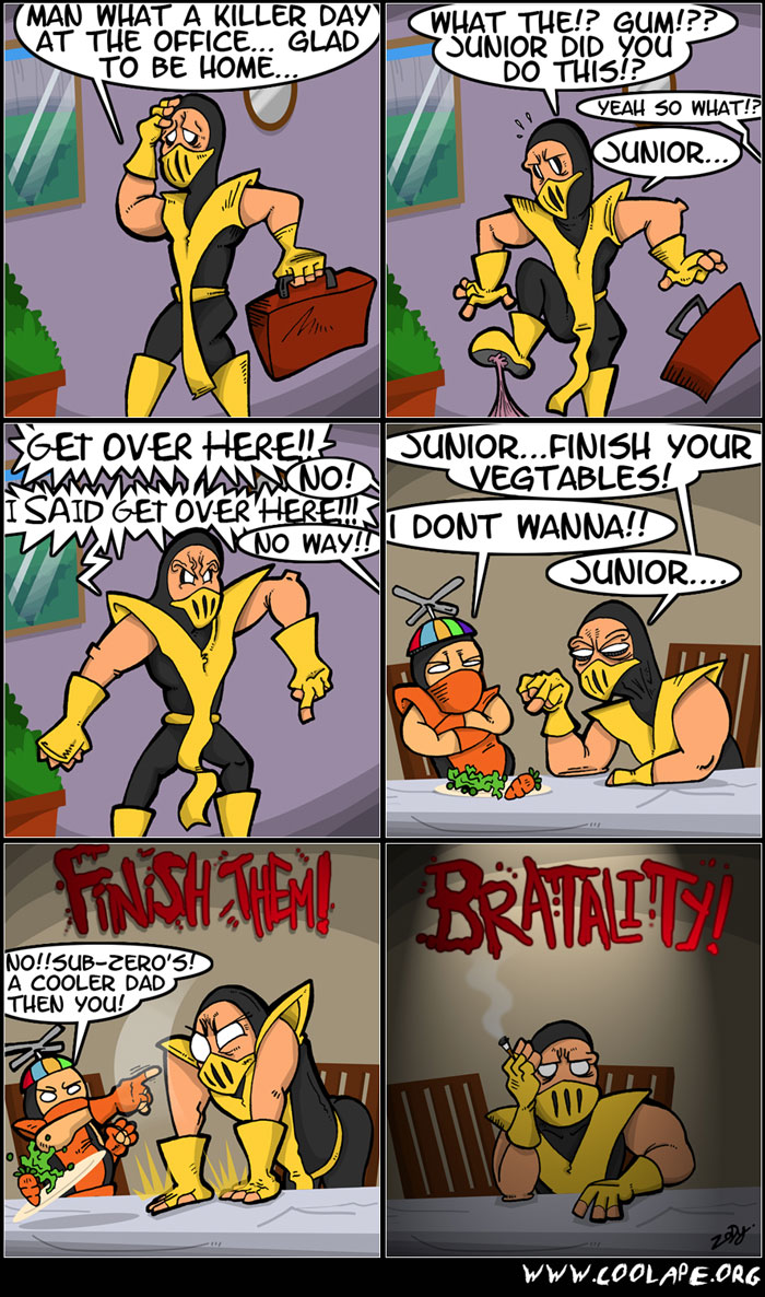 Parental Kombat - Mortal Kombat