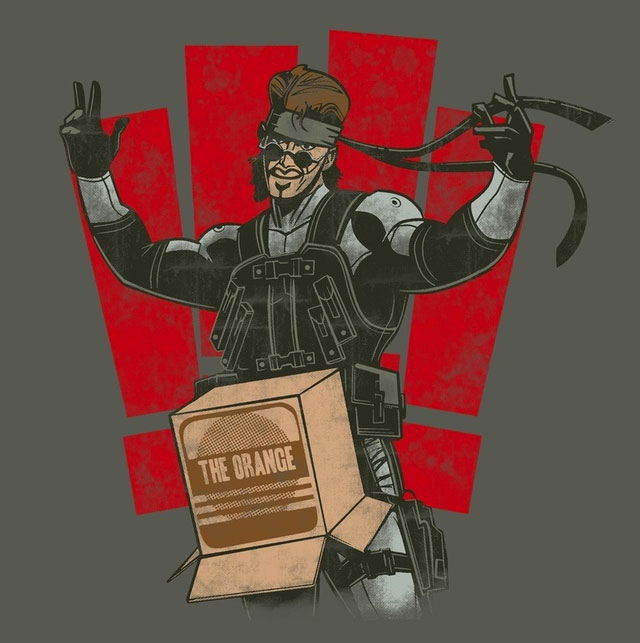 Snake in a Box - Metal Gear Solid