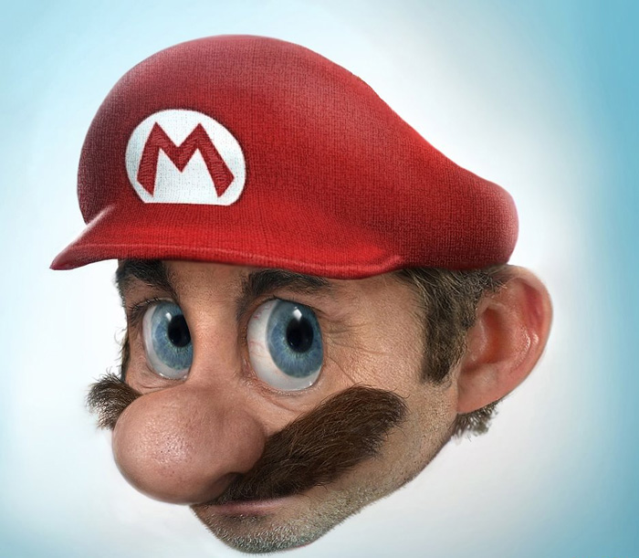 Super Real Mario World