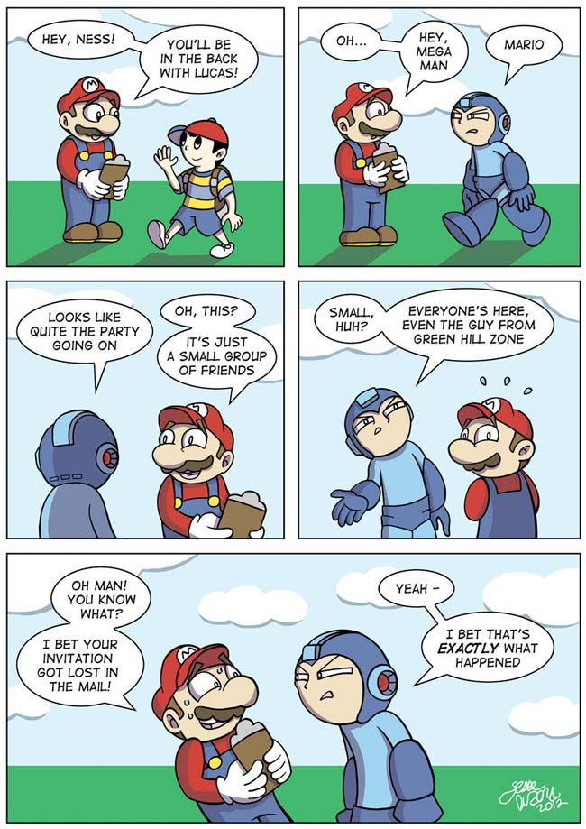 You're Not on the List - Mega Man