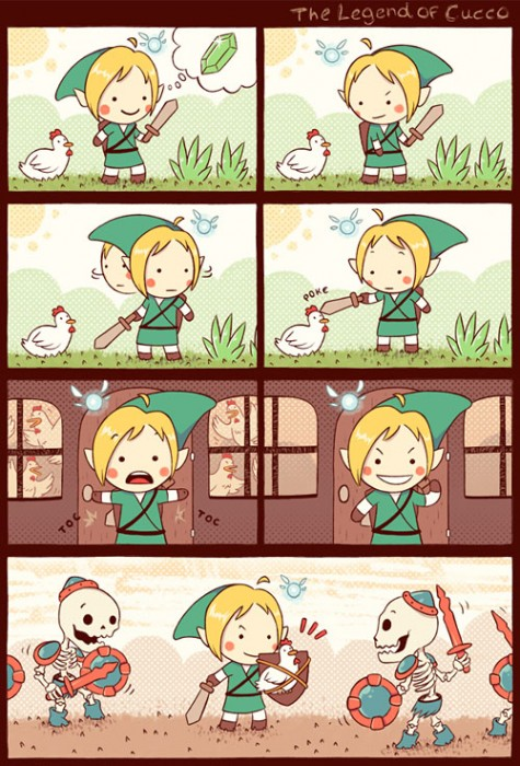 The Legend of Cucco - Zelda