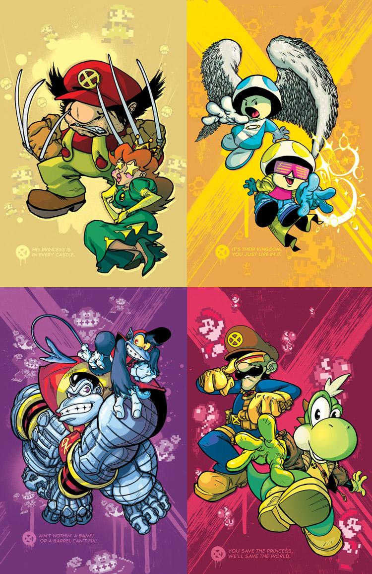 Uncanny Super X-Men Bros.