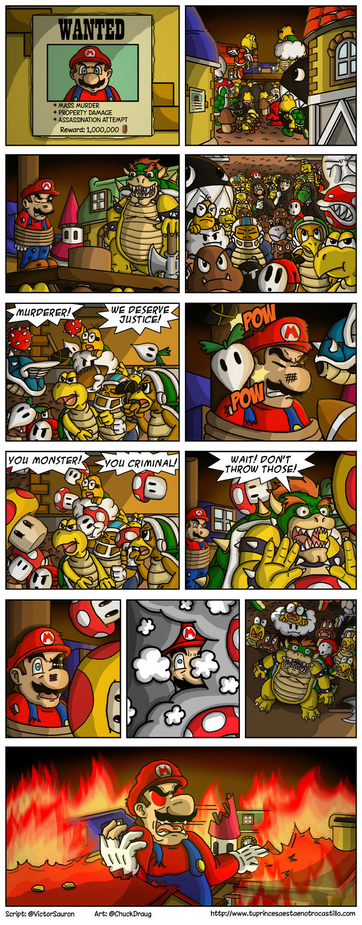Crime and Consequences - Super Mario Bros.