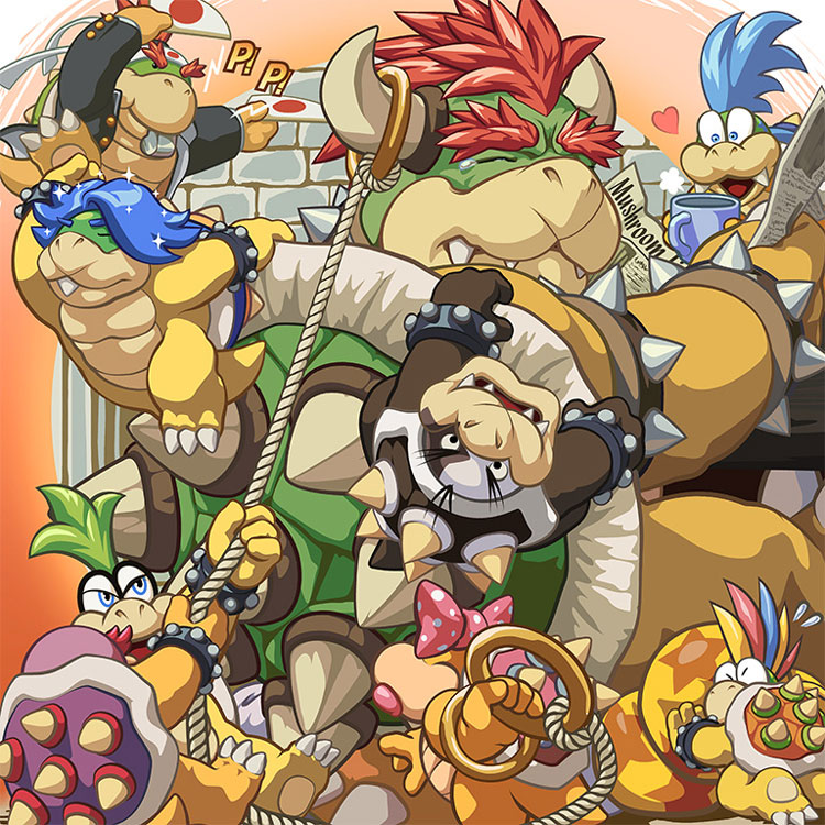 Joys of Fatherhood - King Koopa