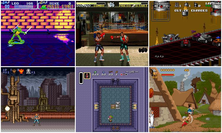 Online Super NES Emulator