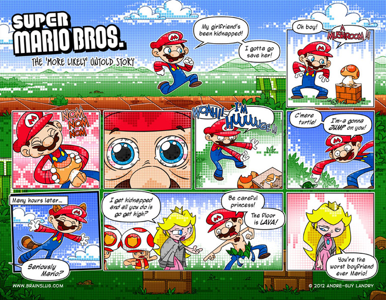 "Super Mario Bros. - The ""More Likely"" Untold Story"