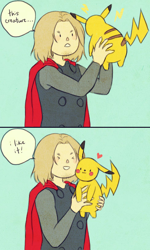 Thor Than A Handful - Pokemon