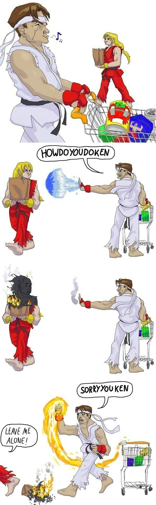 How Do You Do Ken? - Street Fighter