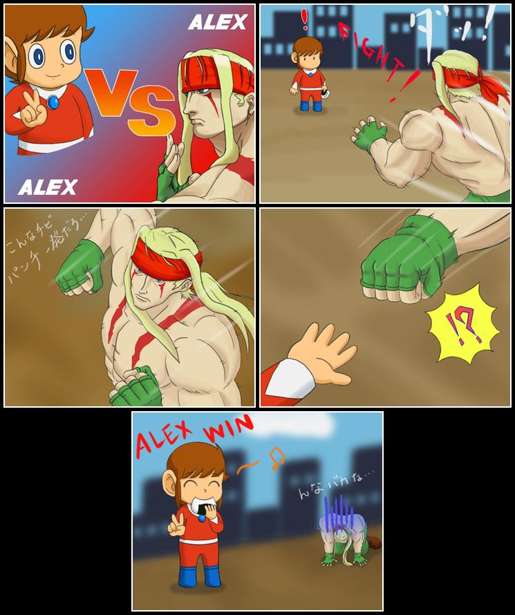 Alex vs. Alex