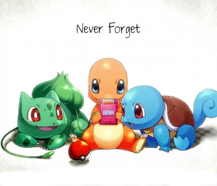 Never Forget - Original Starter Pokemon