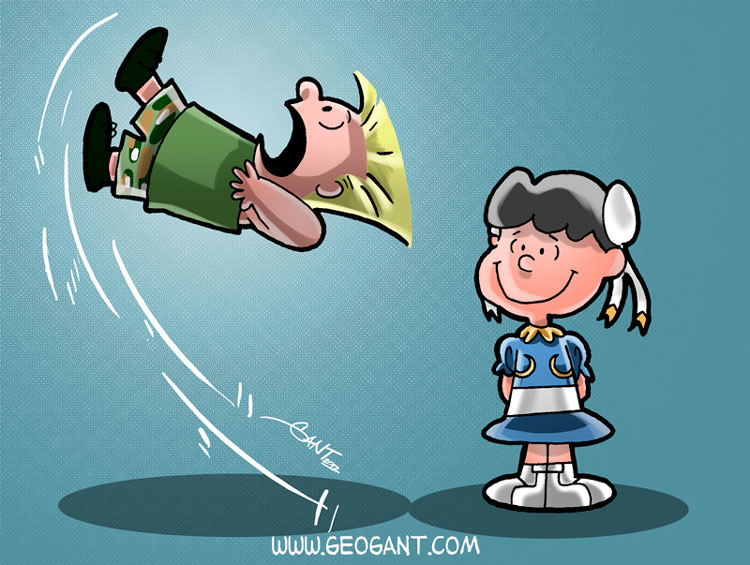 Peanuts Fighter II - Street Fighter II