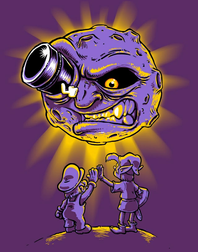 Shoot the Moon - Super Mario Bros. & Zelda