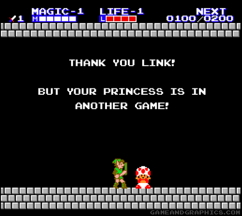 Thank You, Link... Super Mario Bros.