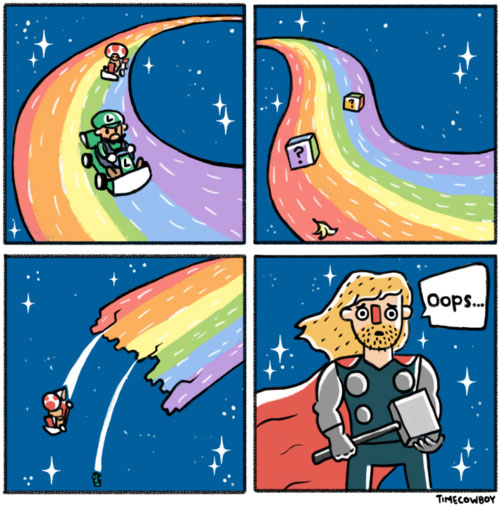 Over the Rainbow Road