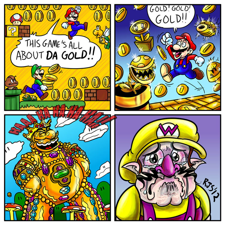New Super Mario Bros. 2 - All that Glitters is Gold