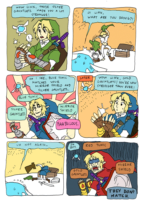 Fashion Senses are Tingling - Zelda