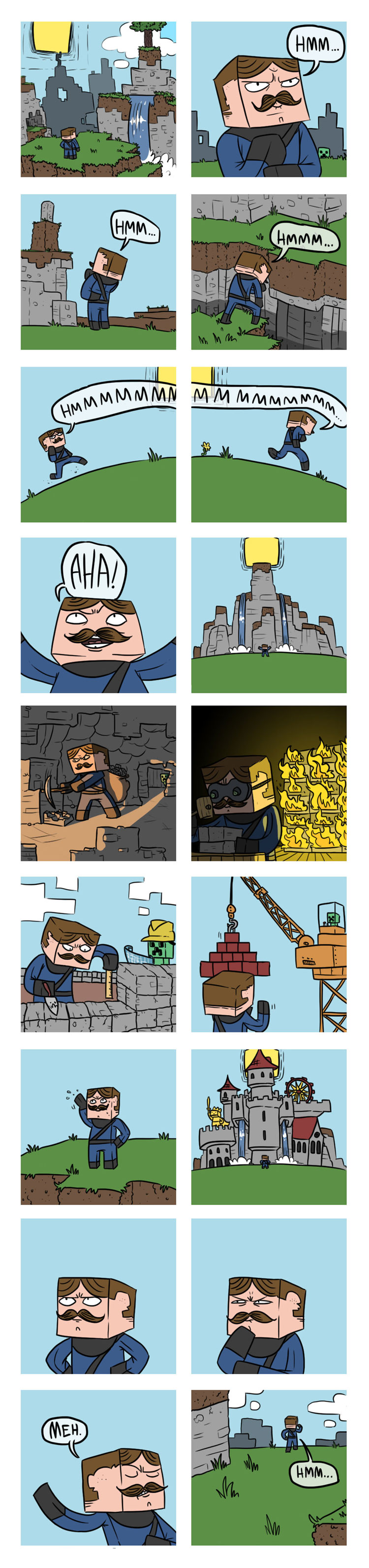 This is How You Minecraft