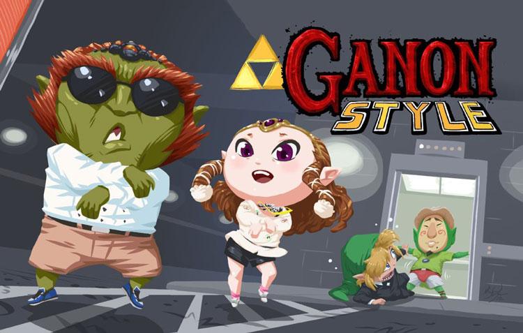 Ganon Style - Gangnam Style