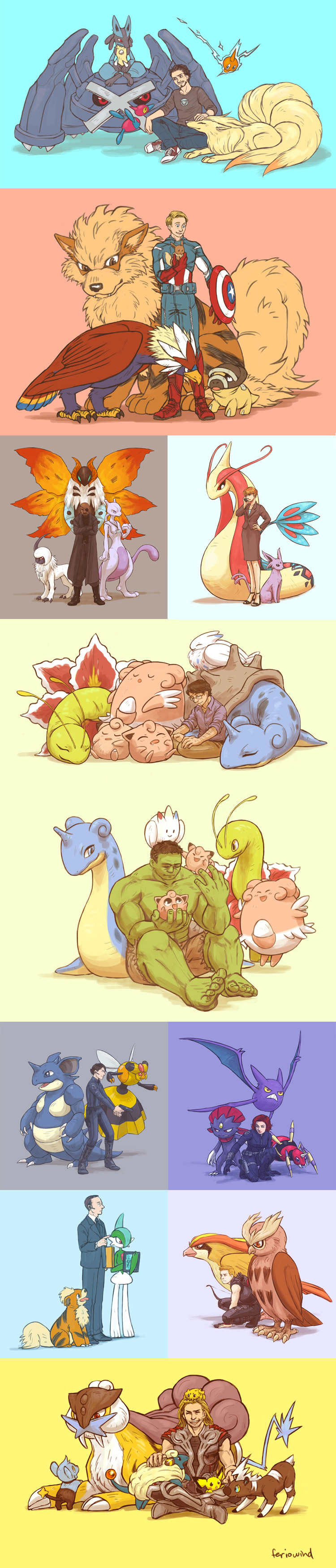 Avengers Pokemon Assemble