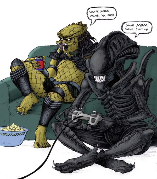 Alien vs predator sex videos