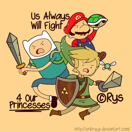 Us Always Will Fight 4 Our Princesses