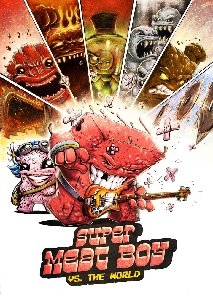 Super Meat Boy vs. The World