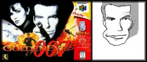 Golden Eye N64 cover -- Cannot be unseen