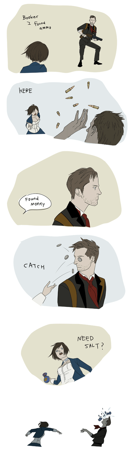 Here, Catch! - BioShock Infinite