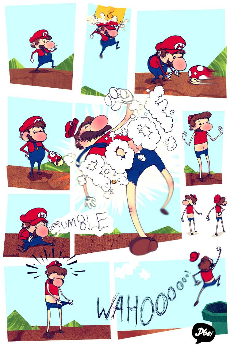 Mario Gets Big