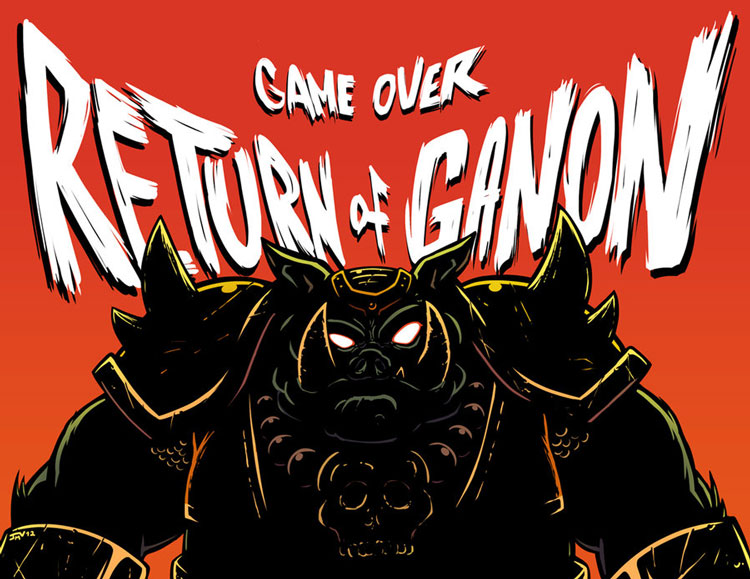 Game Over - Return of Ganon - Zelda II Adventures of Link