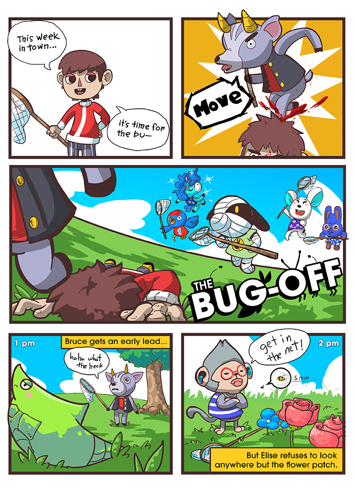 Animal Crossing - The Bug-Off