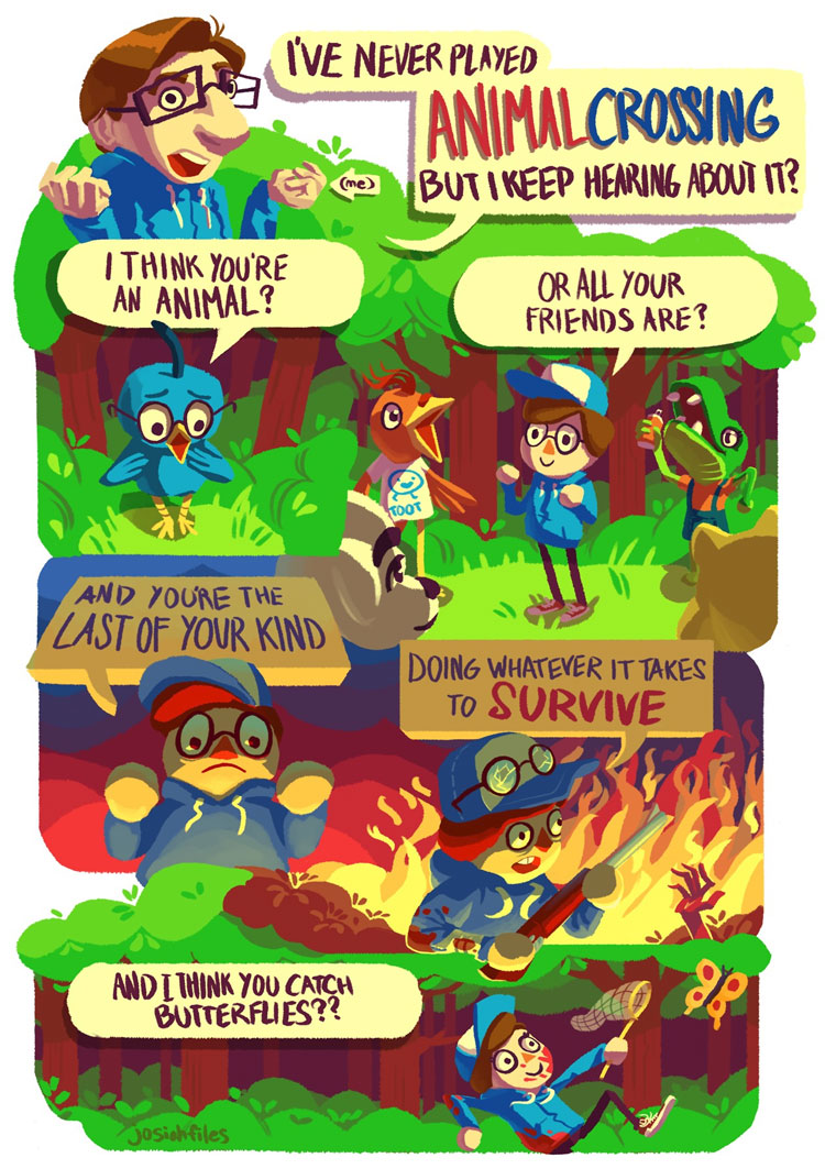 I've Never Played Animal Crossing...