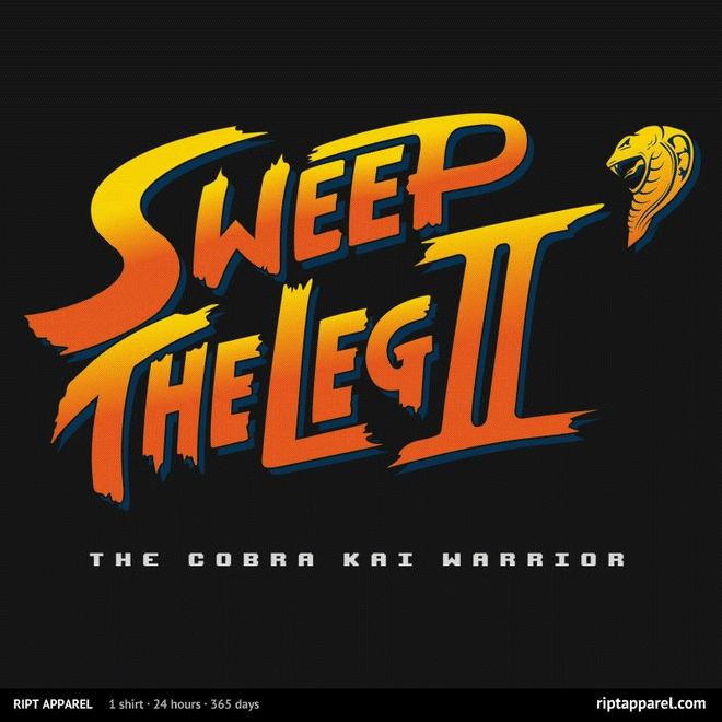 Sweep the Leg II: The Cobra Kai Warrior