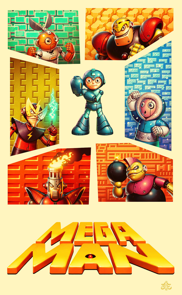 A Tribute to Mega Man
