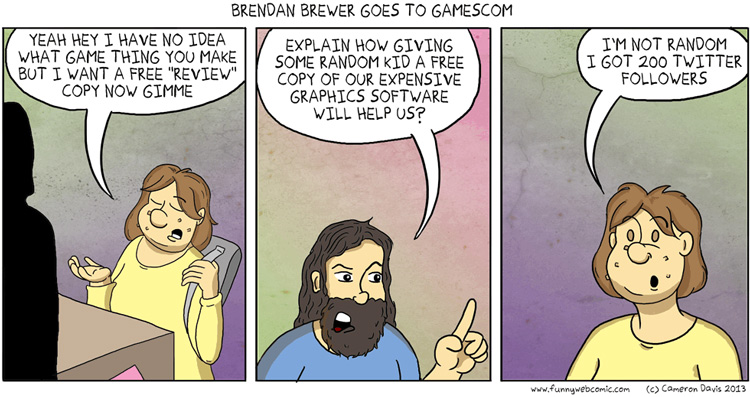 Brendan Brewer, Video Game Reviewer