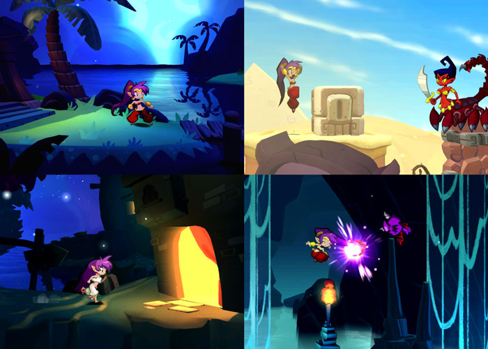 Shantae: Half-Genie Hero Screenshots