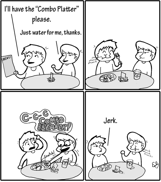 What's for Lunch - Video Game Comic