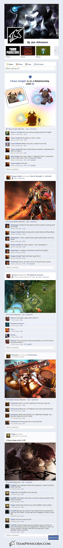 DotA 2 Heroes on Facebook