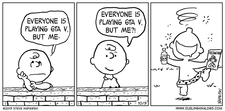 You're a Lonely Man, Charlie Brown