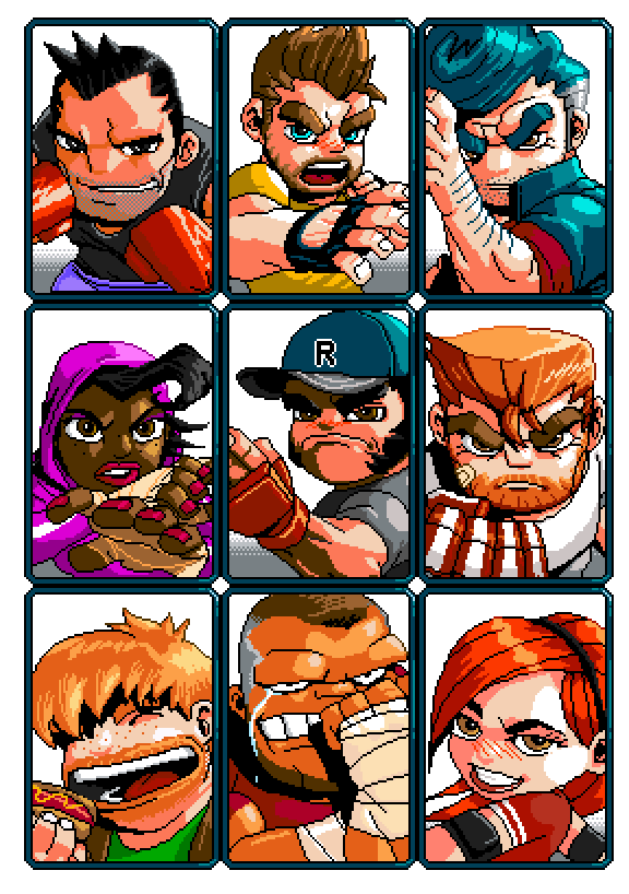 River City Ransom - Characters