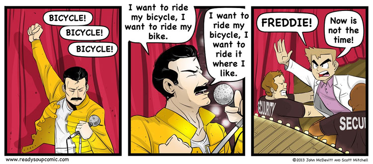 Nidoqueen - Bicycle Race