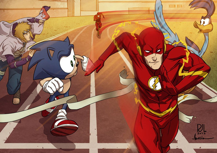 flash vs sonic - photo #26
